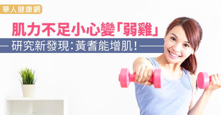 肌力不足小心變「弱雞」 研究新發現:黃耆能增肌!